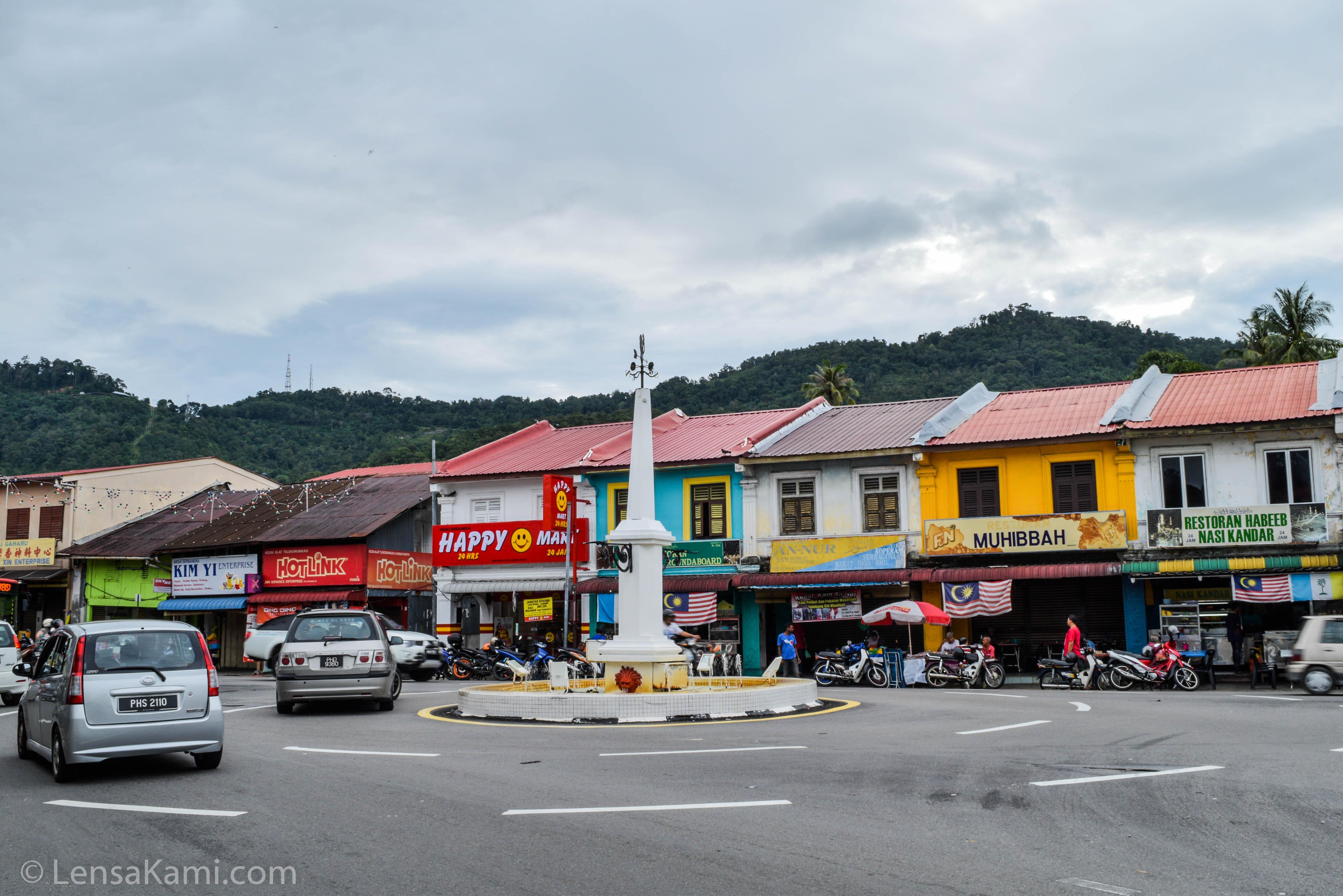 Pekan Kongsi, Balik Pulau