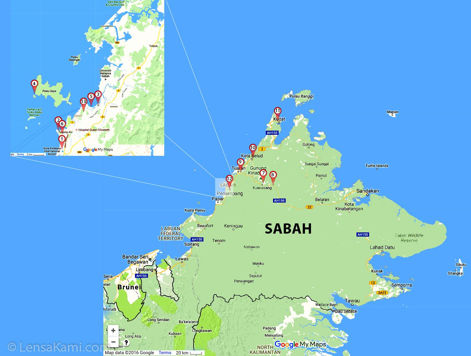 sabah_travel_map