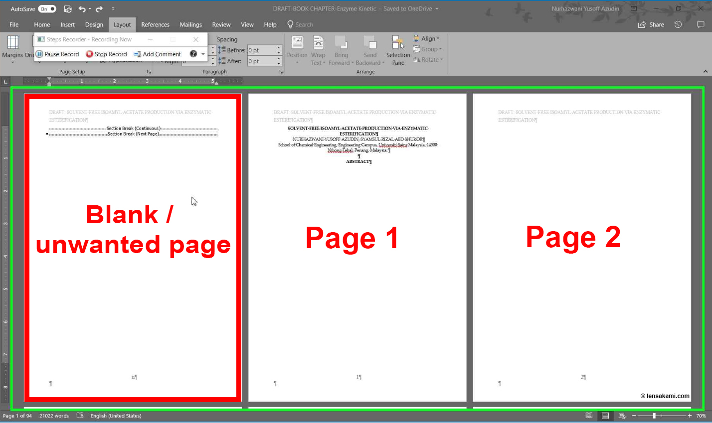 Remove Blank Page 01
